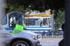 Террорист в Луцке открыл огонь из автобуса