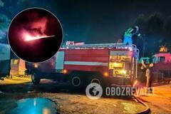 Площадь пожара около 200 кв. м