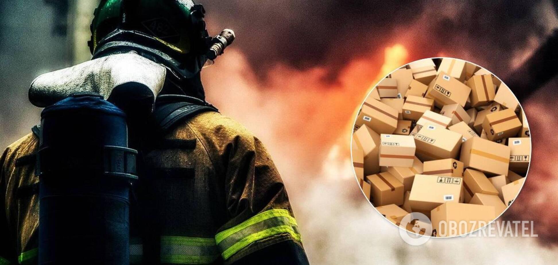 На Дніпропетровщині згоріла поштова вантажівка: посилки можна не чекати