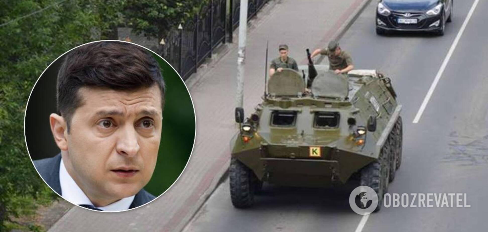 Зеленский прокомментировал захват заложников в Луцке: держу под личным контролем
