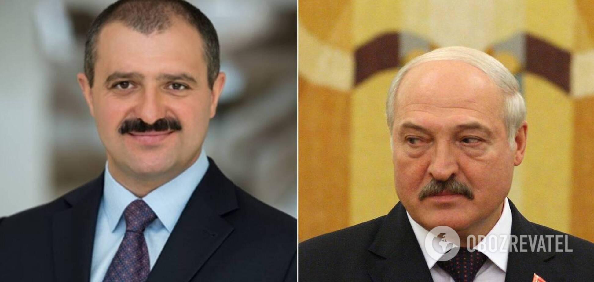 Виктор Лукашенко, Александр Лукашенко, коллаж
