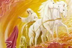 Вважається, що святий пророк Ілля вознісся на небо на вогняній колісниці