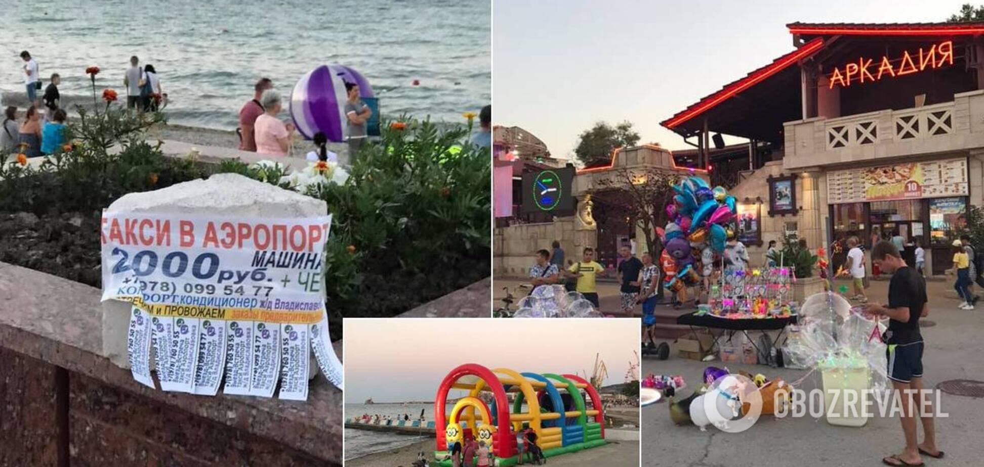 Блогер поскаржився на 'колгосп' і смердюче море в Криму
