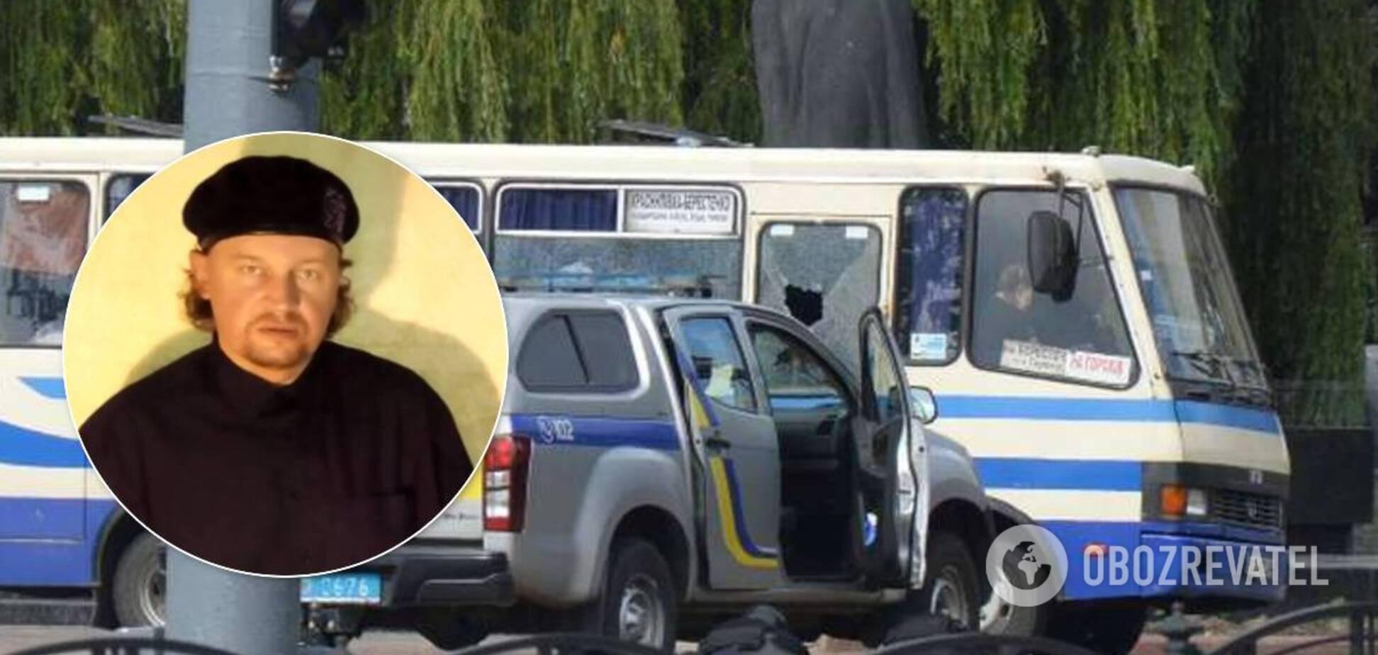 Терорист, який захопив автобус у Луцьку, опублікував вимоги