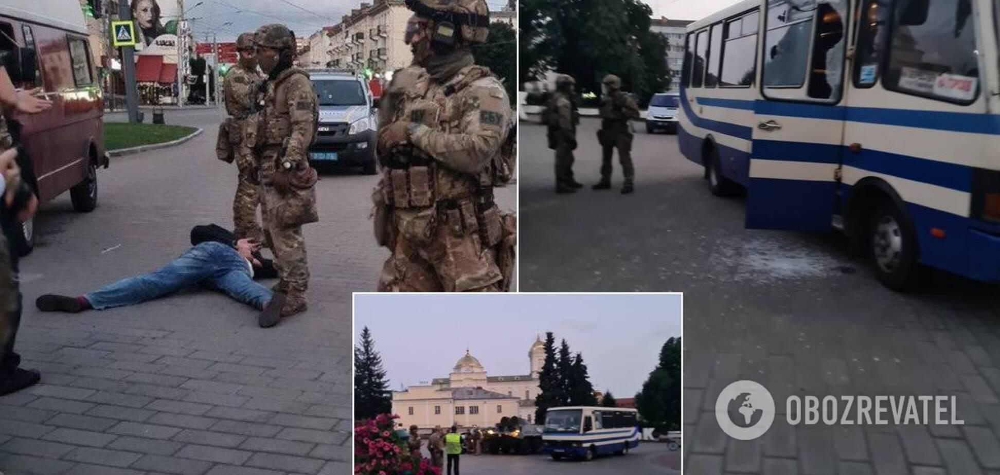 Луцкого террориста задержали, всех заложников освободили