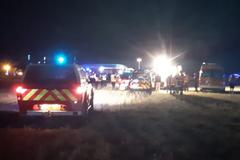 Во Франции после ДТП в авто заживо сгорели 5 детей из одной семьи. Фото и видео