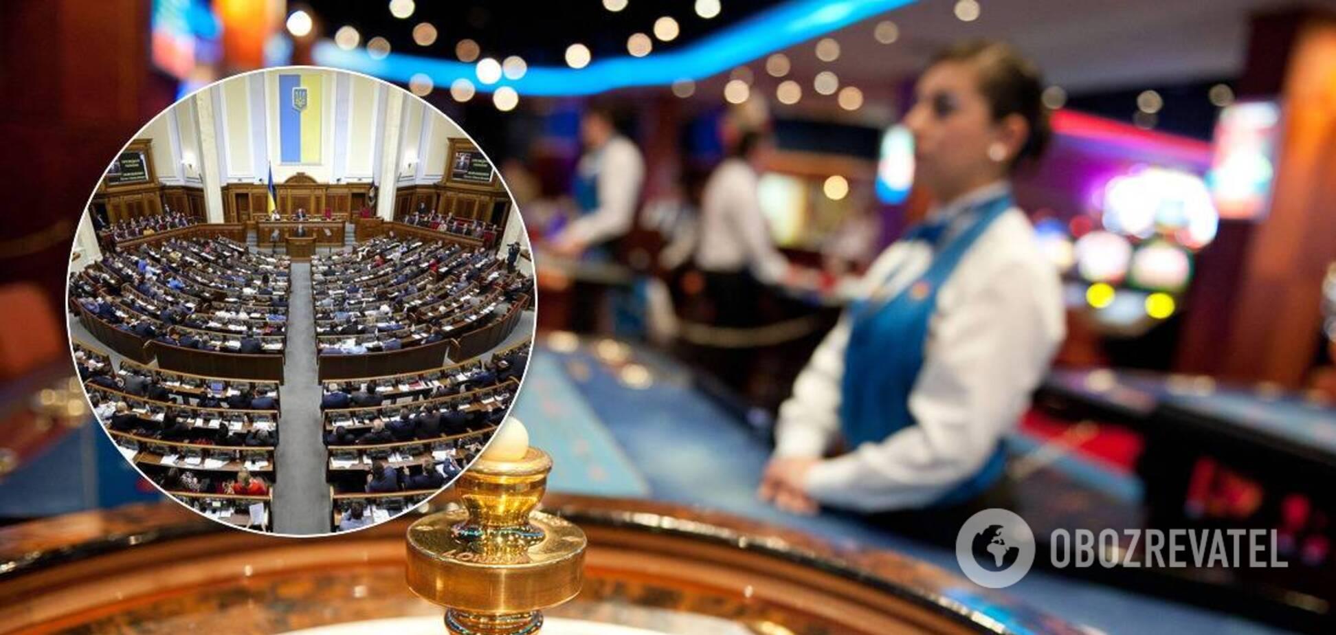 В Україні незабаром відкриють казино