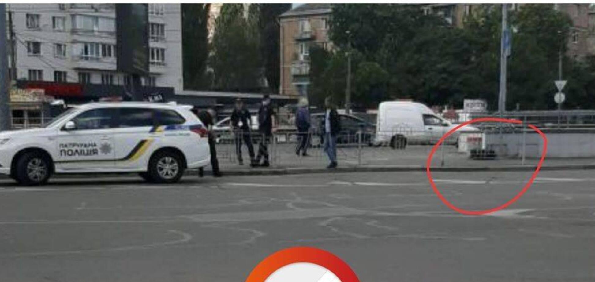 У Києві знайшли 'підозрілу' валізу