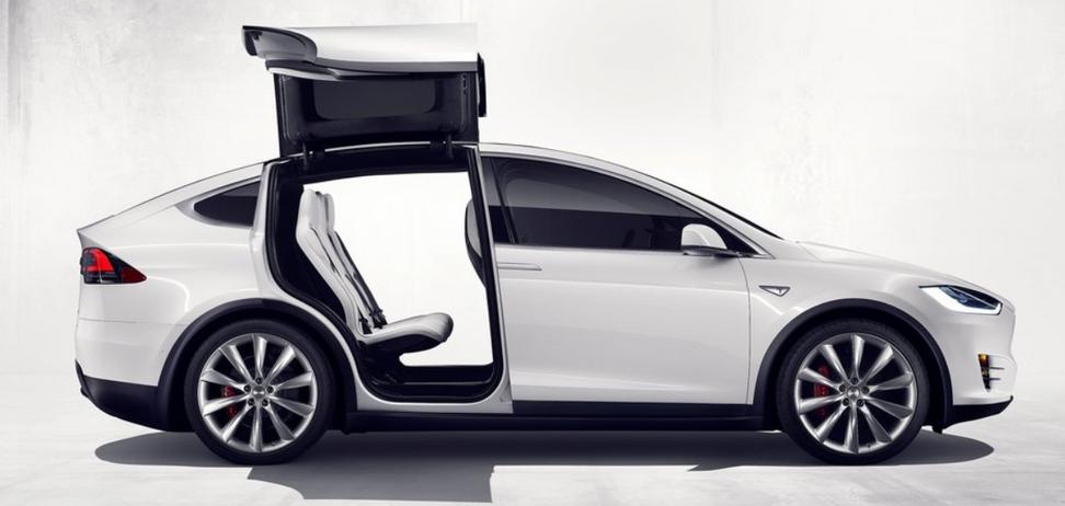 Tesla Model X – один из любимых украинцами электрокаров. Фото: Tesla