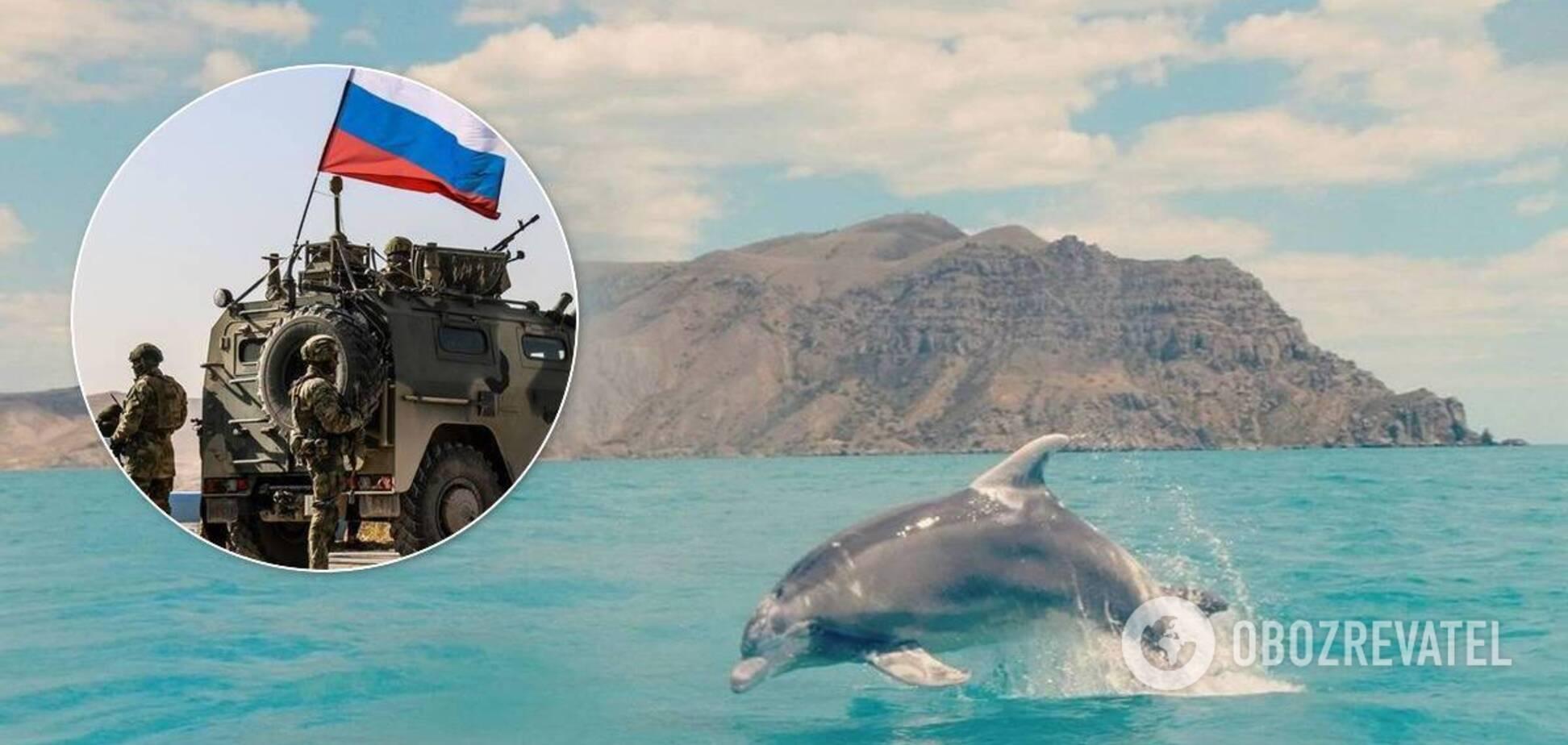Бойові дельфіни РФ в Сирії
