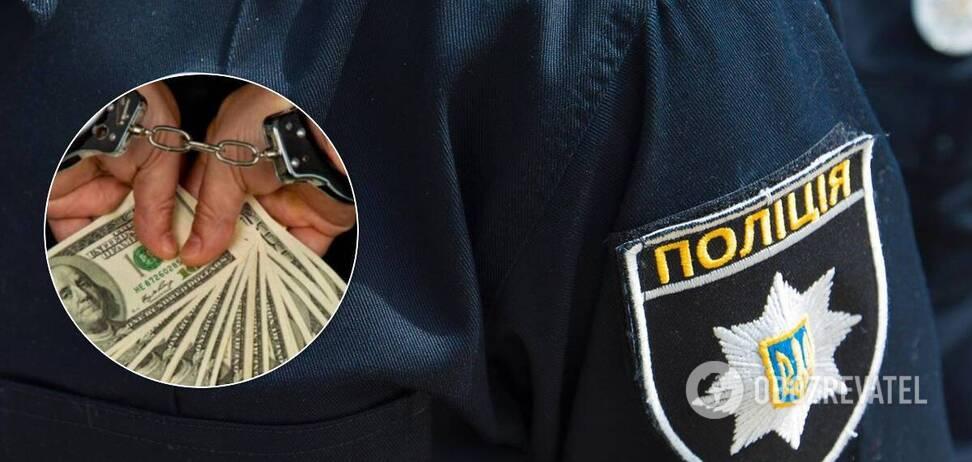 Полицейского поймали на взятке