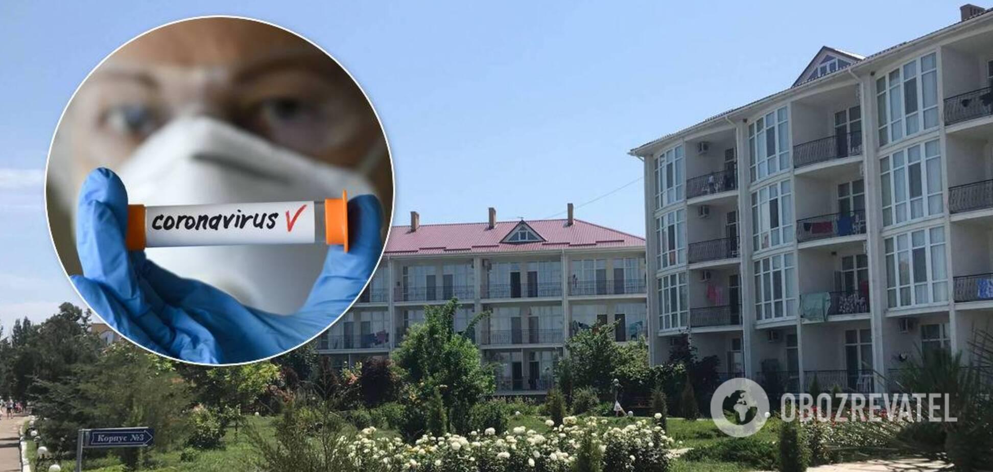 В Бердянске – вспышка COVID-19 в санатории, количество больных растет: подробности