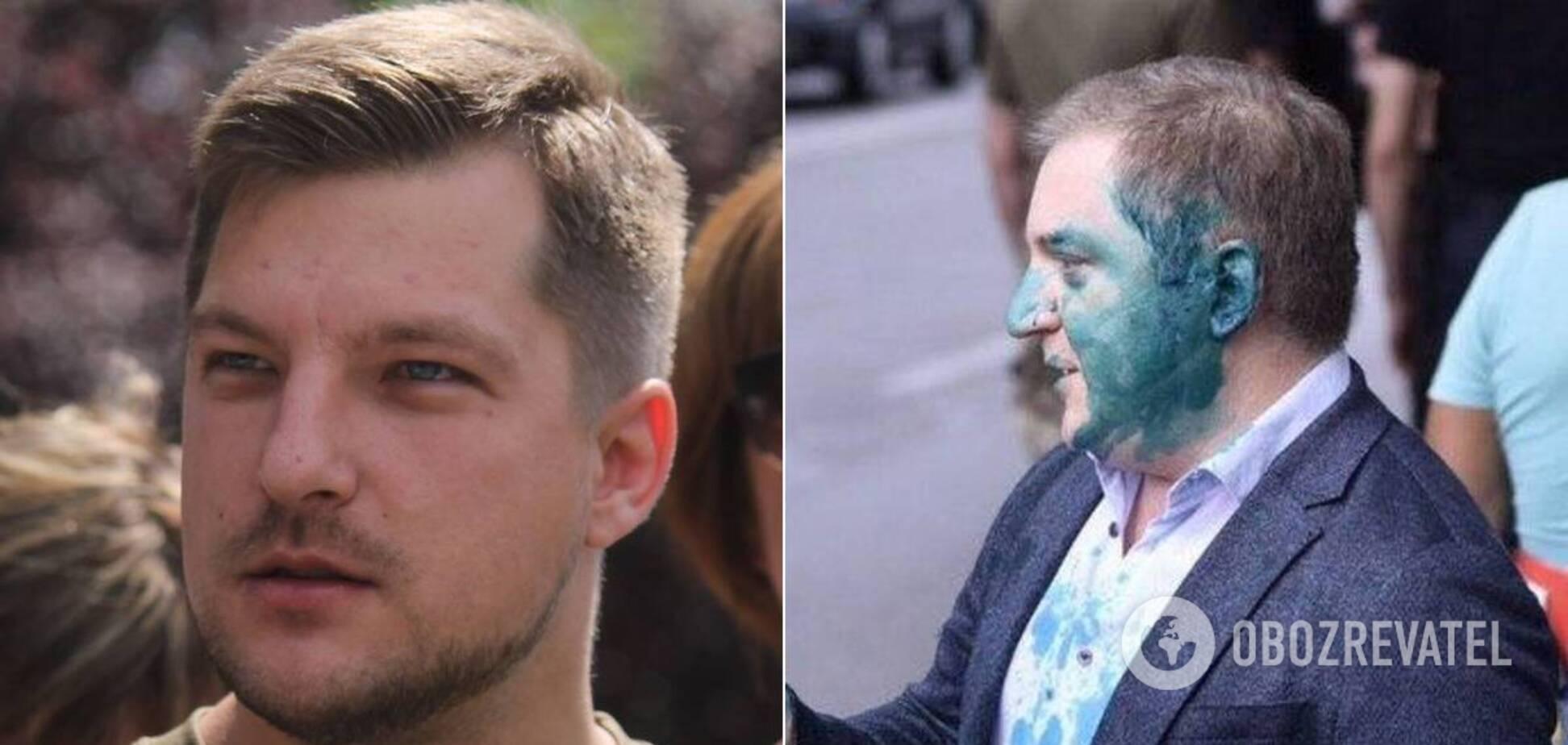 У Порошенка зажадали звільнення ветерана АТО, затриманого через інцидент з нардепом Волошиним