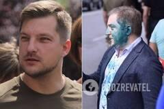 У Порошенко потребовали освобождения ветерана АТО, задержанного за инцидент с нардепом Волошиным