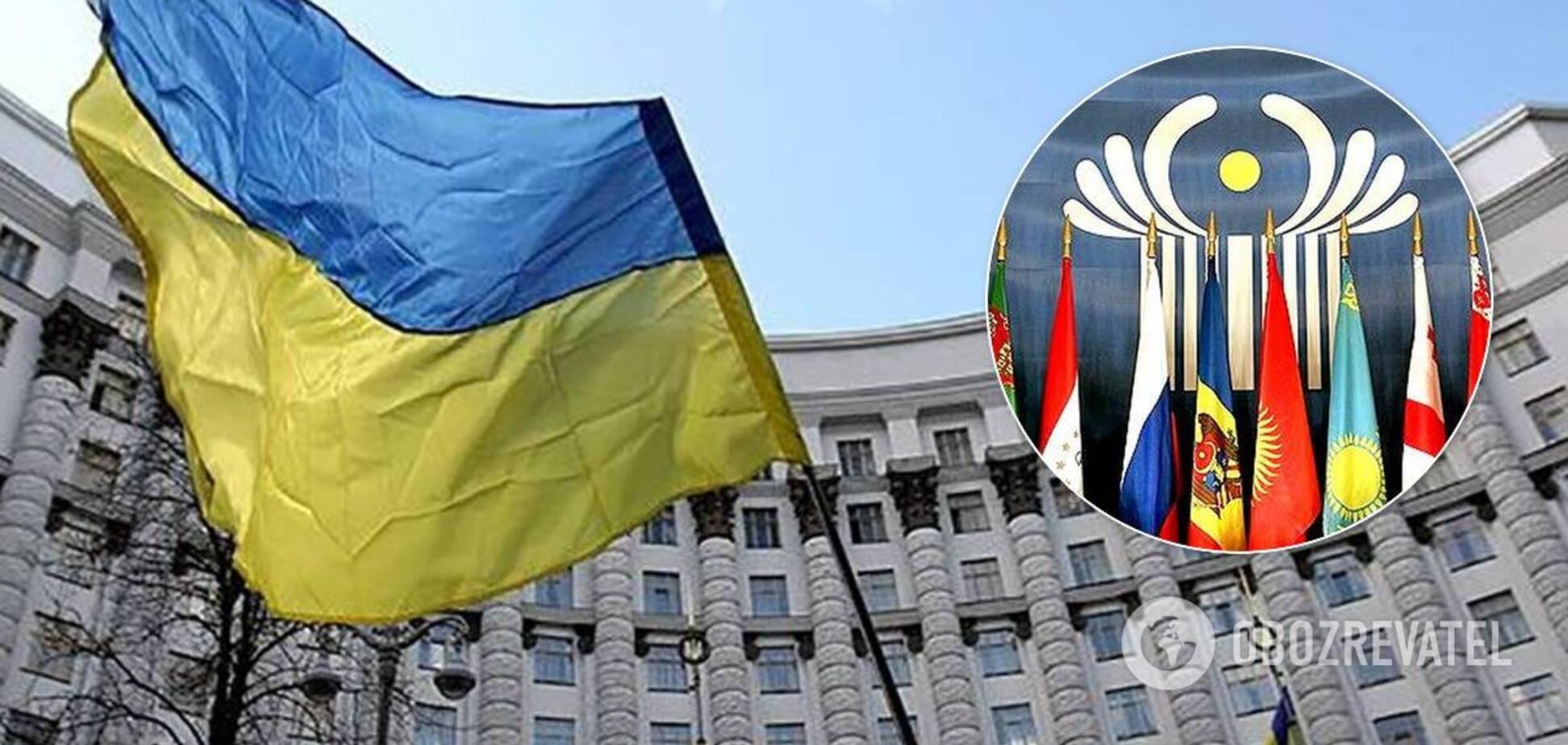Україна вийде з угод СНД про гуманітарне співробітництво