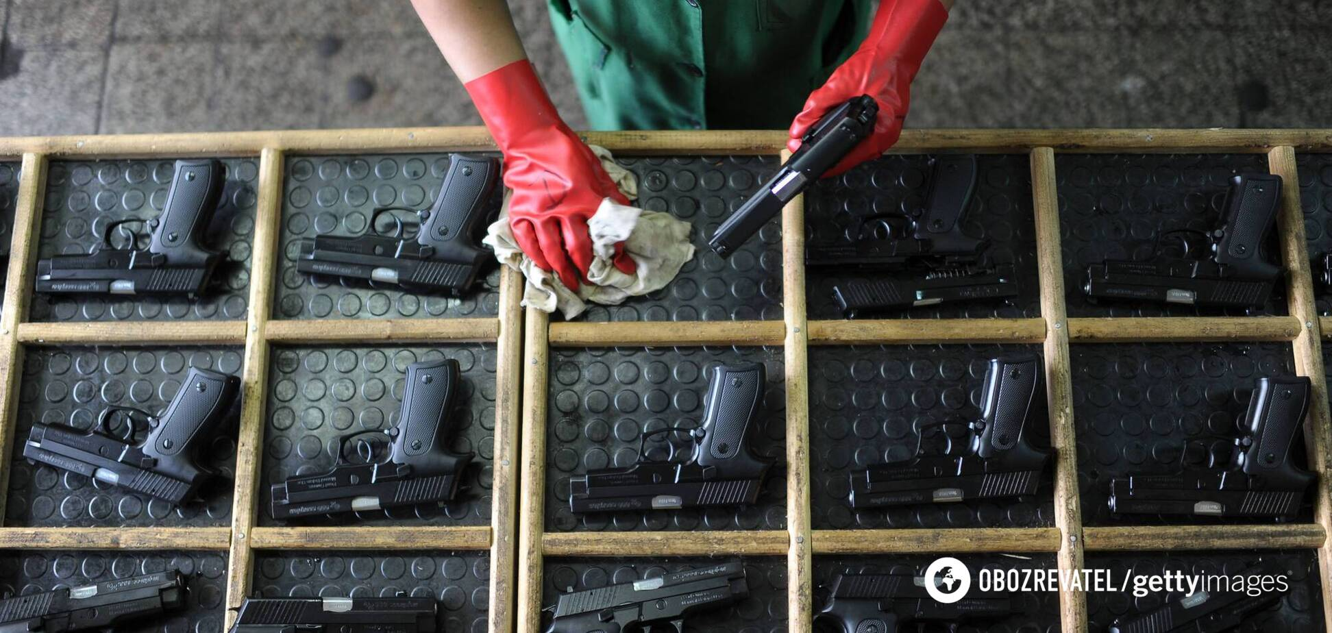 Легализация оружия в Украине: что планируют в Раде