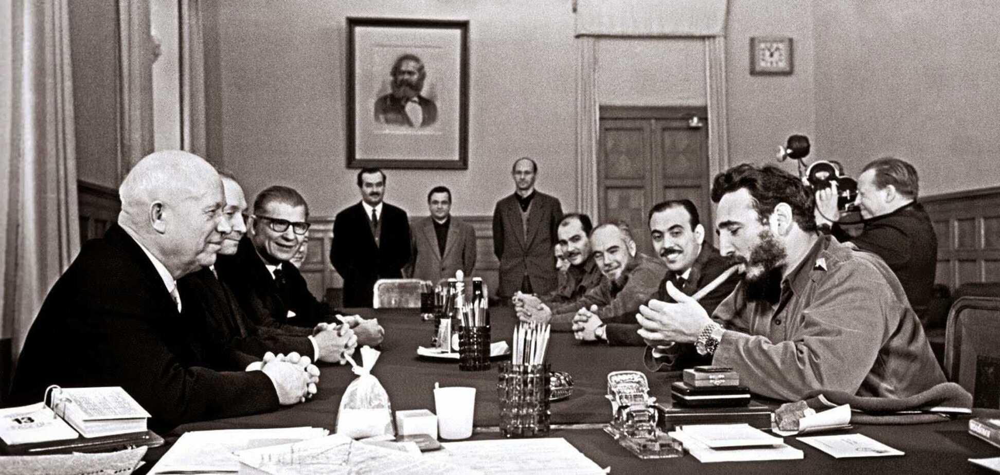 Візит Фіделя Кастро до СРСР в 1963 році