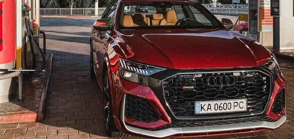 Новітній кросовер Audi RS Q8 вже в Україні. Фото: instagram.com/drive.luxury