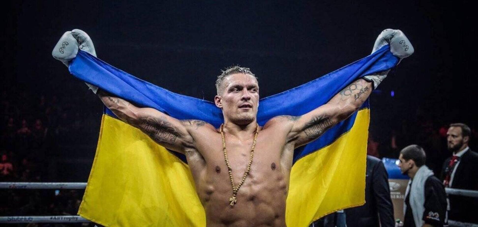 Усик показав тренування, здивувавши своєю українською вимовою