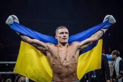Усик показал тренировку, удивив своим украинским произношением