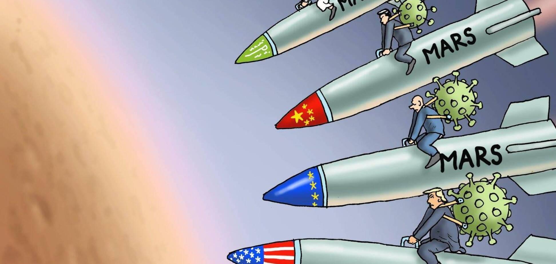 Все на Марс! 'Батут' России в этой гонке не участвует