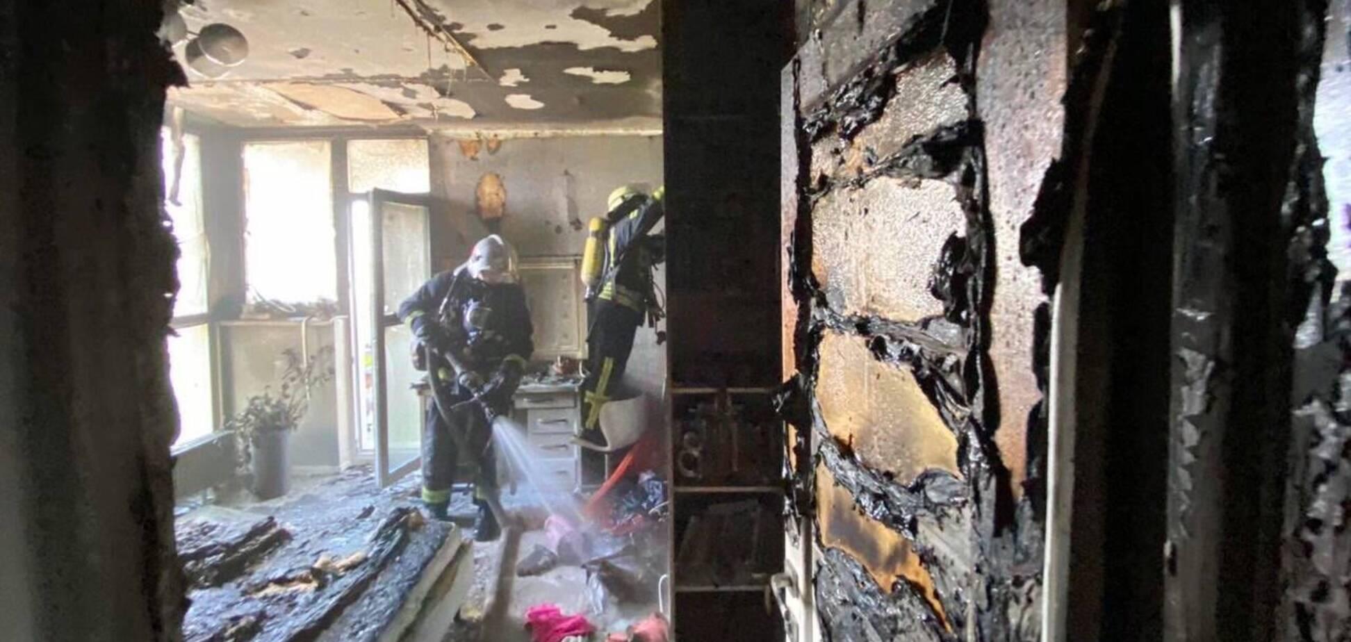 У Києві 10-річна дівчинка гасила пожежу у квартирі та отримала опіки
