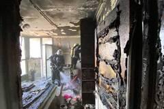 В Киеве 10-летняя девочка гасила пожар в квартире и получила ожоги