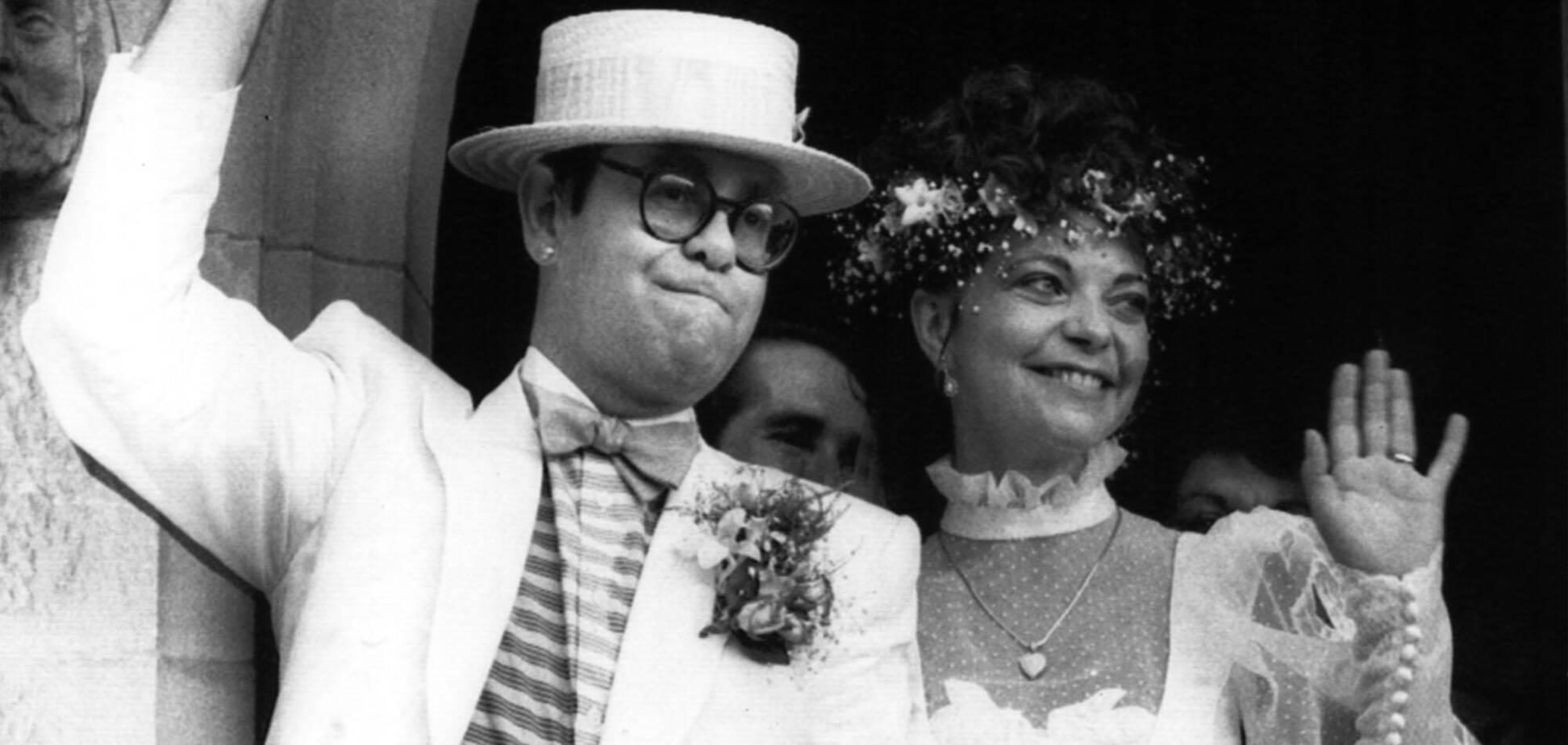 Свадьба Элтона Джона и Ренаты Блауэл