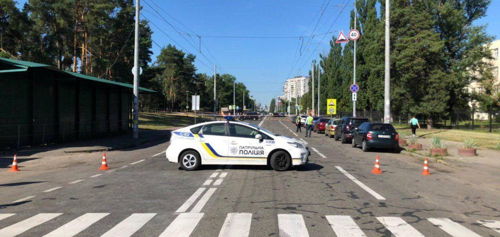 У Києві знову помітили підозрілий пакет