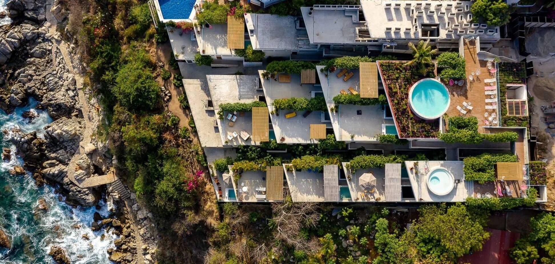 Квартиры с элементами коттеджа: в Мексике построили необычные сейсмостойкие жилые дома. Фото