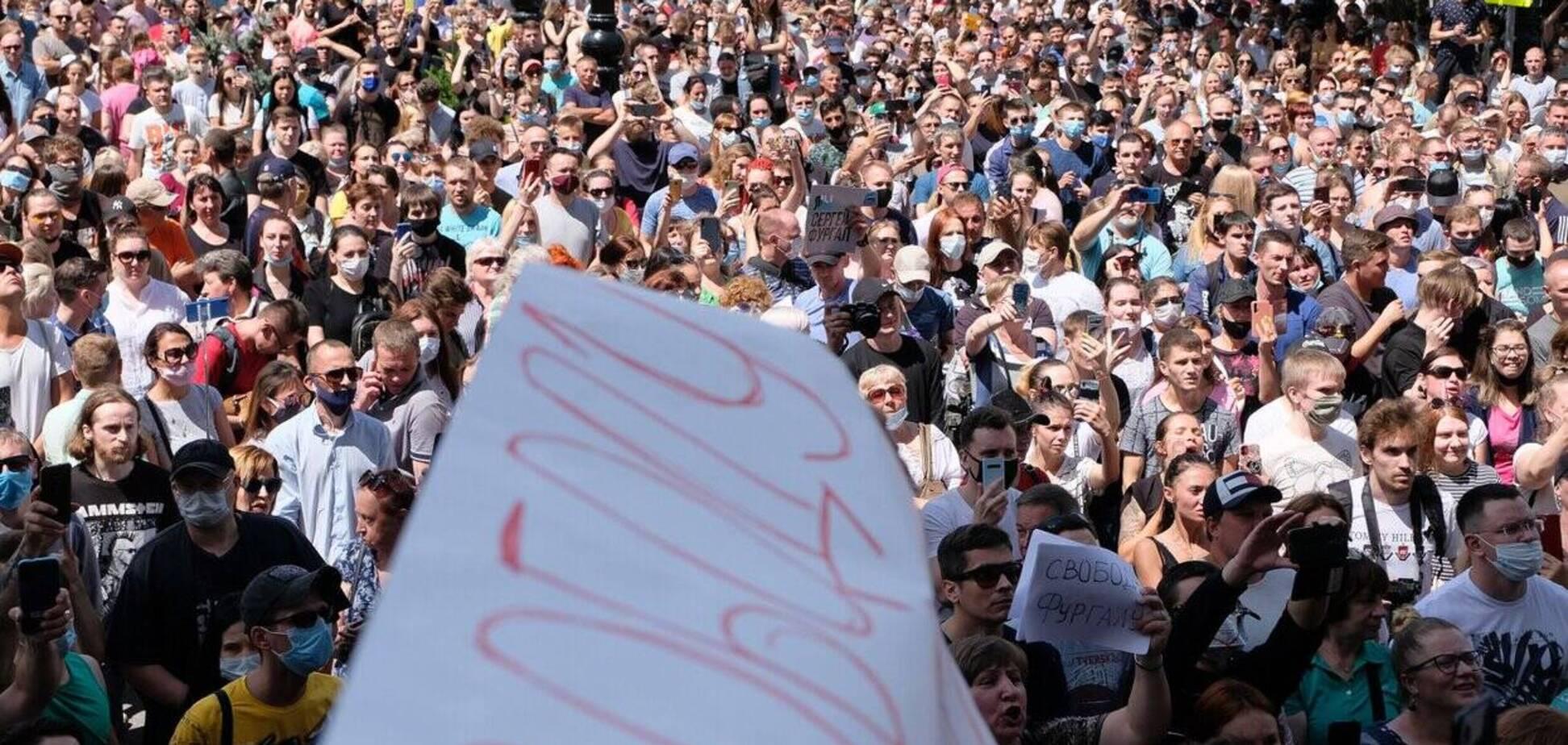 По россТВ что угодно, лишь бы не протесты в Хабаровске