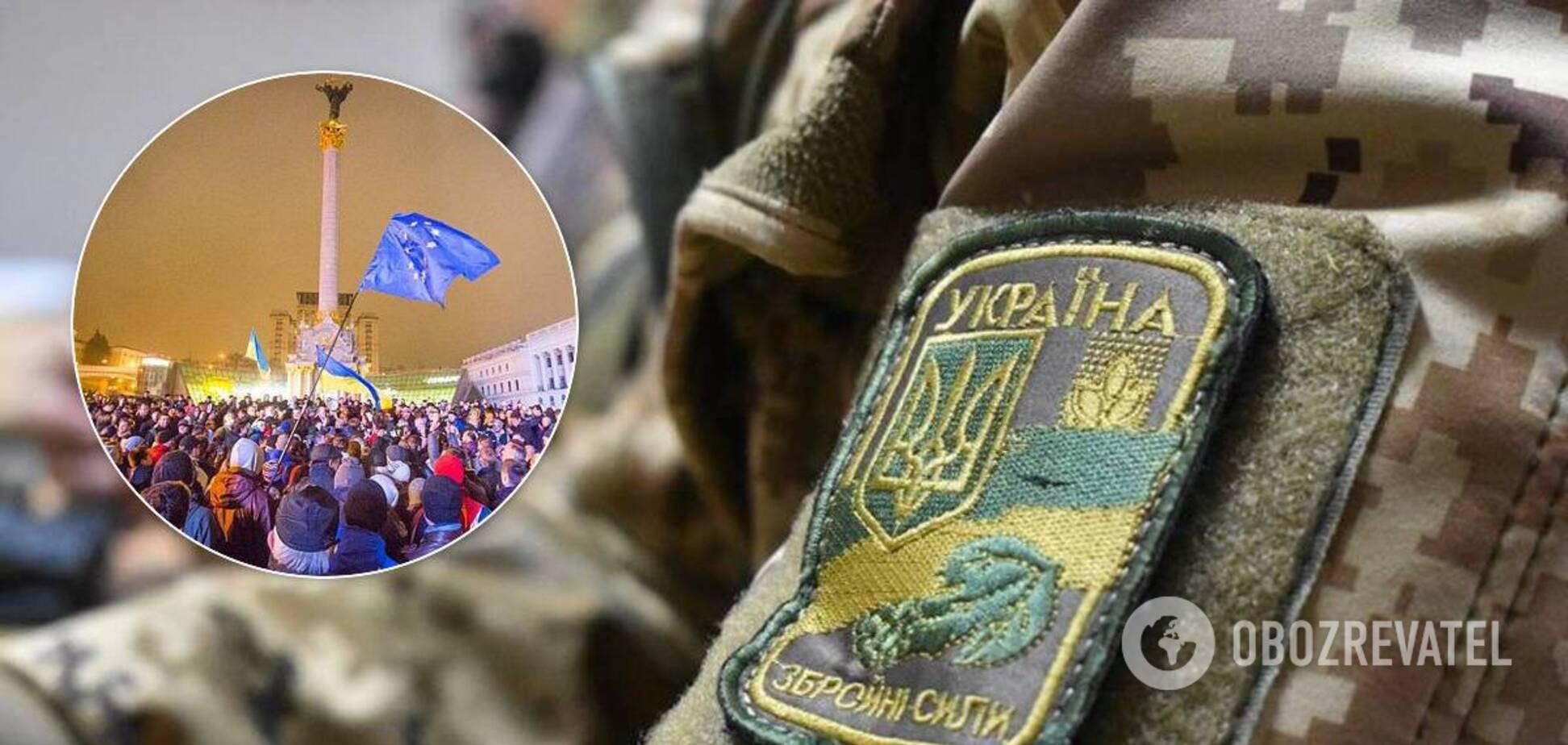 В Україні складуть список військових-учасників Революції Гідності. Документ