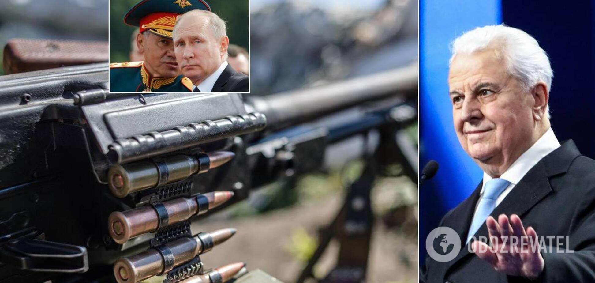 Проблеми Росії виштовхнуть Путіна з Донбасу, – Кравчук