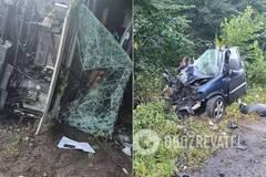 Под Винницей в ДТП с грузовиком погибли четыре человека. Фото