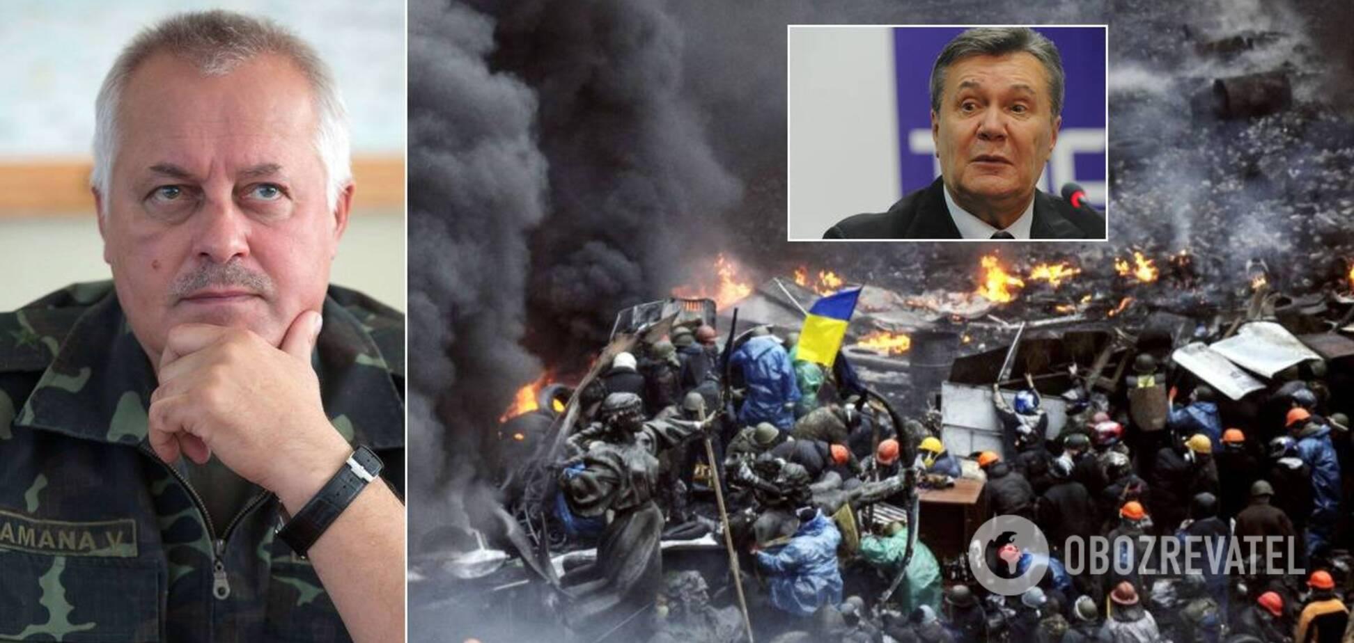 Розгін Майдану, тиск Януковича і розвал ЗСУ: що повідомив ексначальник Генштабу Замана і чим важливі його показання