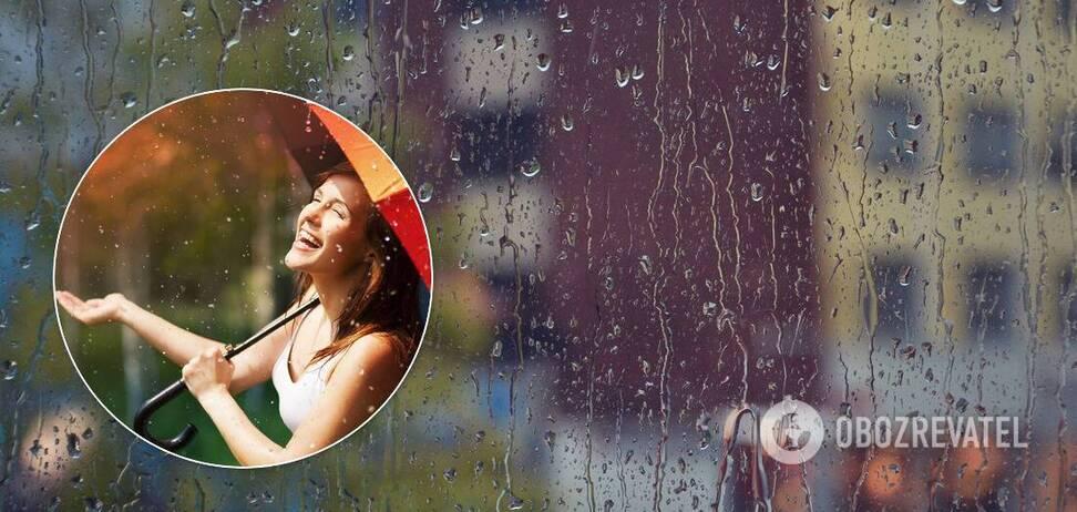 Выходные будут с локальными грозовыми дождями