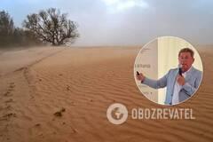 Михайло Ромащенко розповів про ризик перетворення на пустелю Півдня України