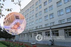 В Кременчуге родилась девочка 'без кожи'