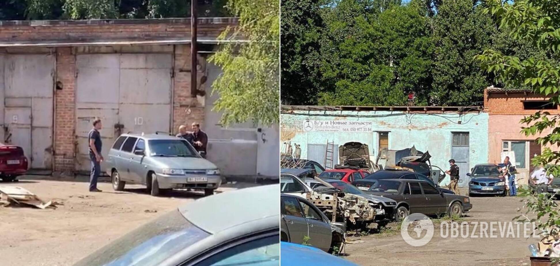 Чоловіка з гранатою в Полтаві відпустили разом із заручником