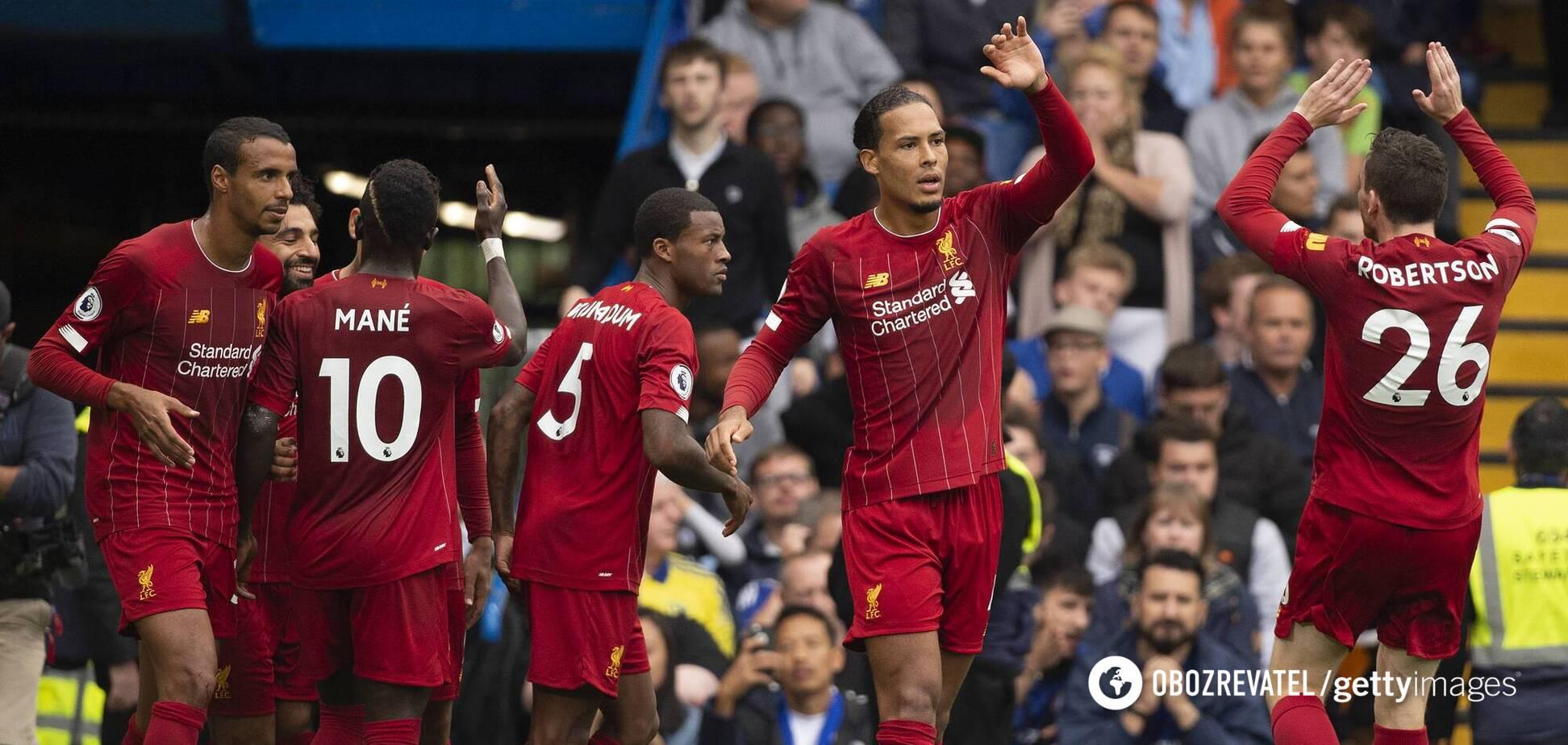 'Ливерпуль' и 'Челси' устроили голевую феерию, забив восемь голов