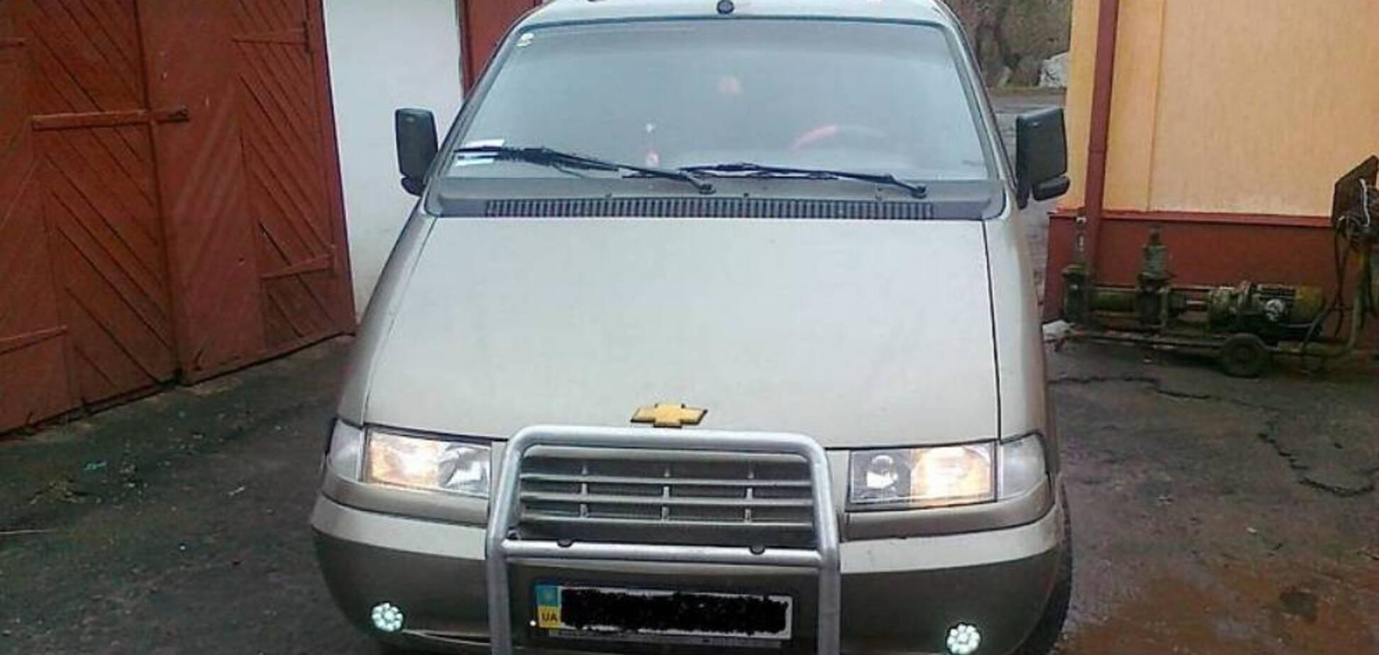 На б/у внедорожнике эмблема Chevrolet, но это на самом деле Лада. Фото: auto.ria.ua