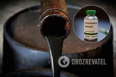 Цены на нефть выросли из-за новостей о вакцине от коронавируса