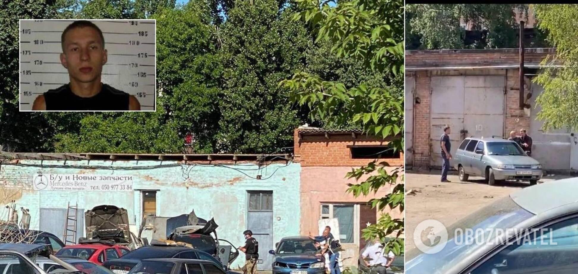 Спецоперация в Полтаве: полковник освобожден, преступник бросил авто и сбежал. Фото, видео и подробности