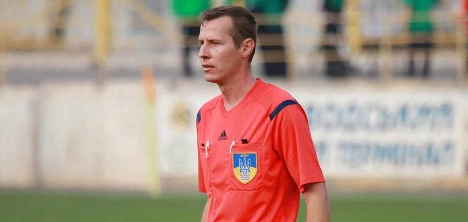 Стало відомо, хто побив арбітра Юрія Іванова після матчу Першої ліги