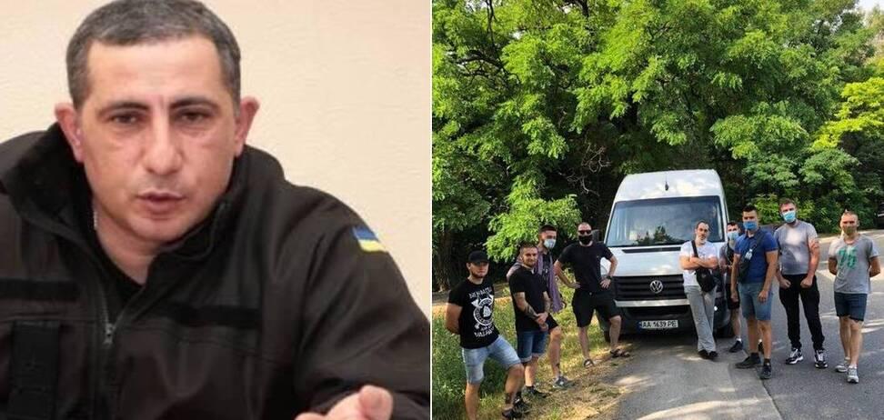 Полковник НГУ Григорян відмовився надати транспорт бійцям 'Азова', які зібралися здати кров пораненому товаришу