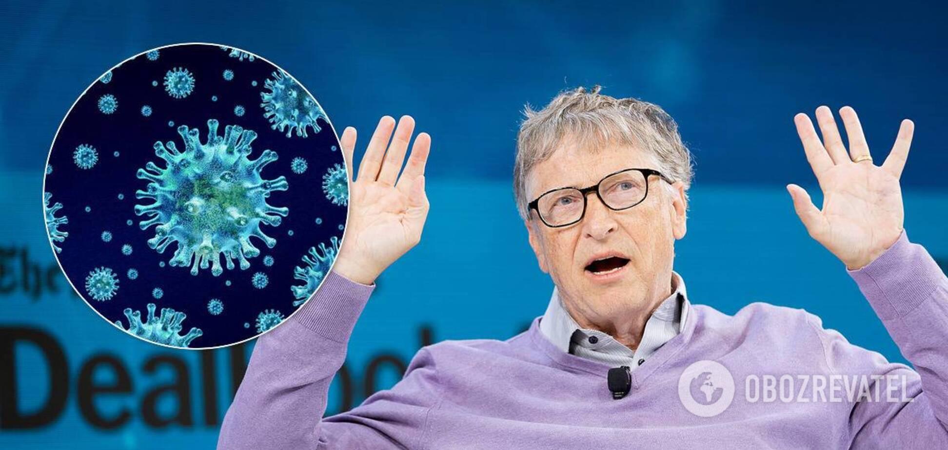 Гейтс прокоментував звинувачення щодо пандемії
