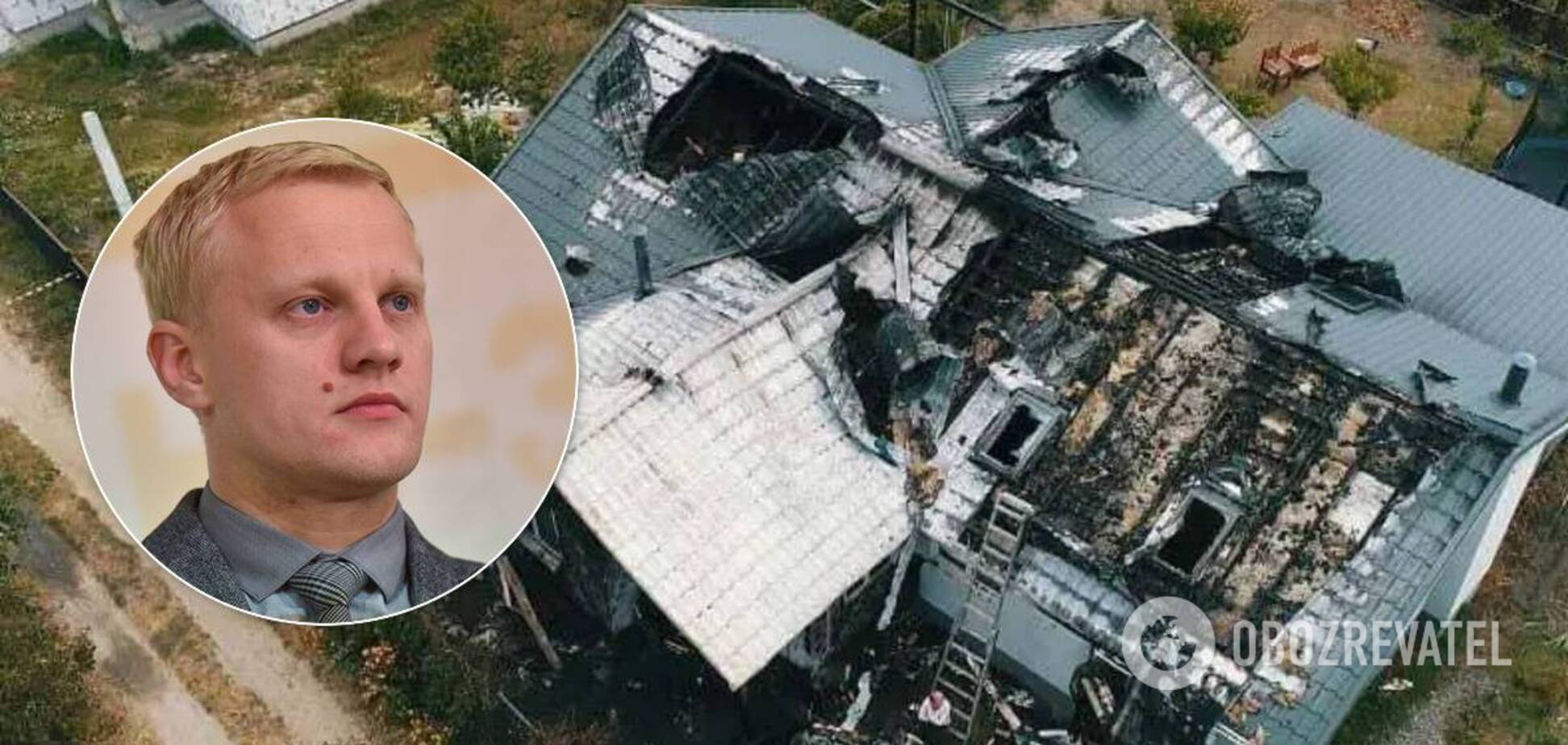 Підпал будинку Шабуніна