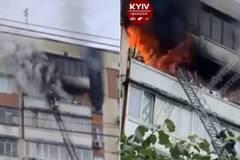 У Києві в пожежі згоріла людина
