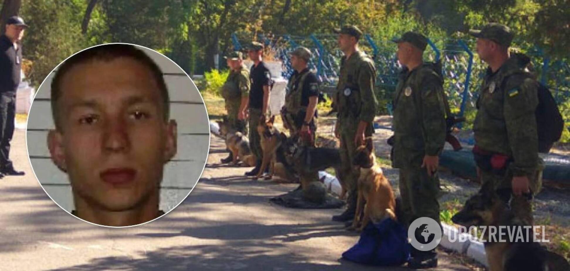 Полтавского террориста искали всю ночь: применили собак и дроны