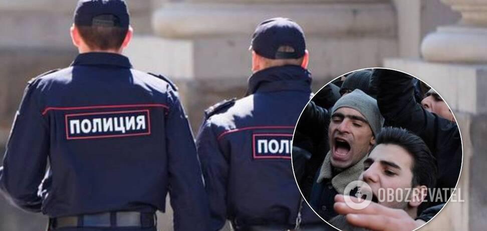 У Москві азербайджанці та вірмени влаштували масове побоїще зі стріляниною. Відео